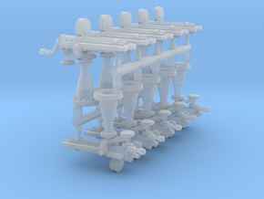 Gatling Guns (15mm) in Smooth Fine Detail Plastic