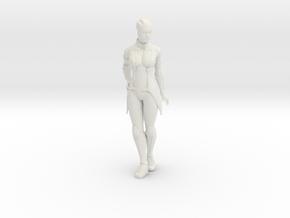 Liara T'Soni Statue in White Natural Versatile Plastic