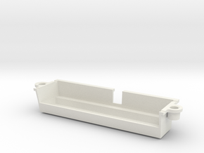 N64 Universal Cartridge Slot in White Natural Versatile Plastic