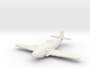 Messerschmitt Me-309 in White Natural Versatile Plastic: 1:200