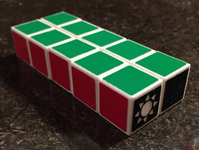 1x2x5 Cuboid in White Strong & Flexible