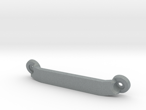 CW01 Chassis Brace - Rear - Blank (No Lettering) in Polished Metallic Plastic