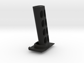 P-09 Spring Plate (10 Stopper) in Black Natural Versatile Plastic