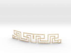 Urban Style Bracelet in 14k Gold Plated Brass