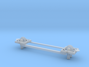 1:32 Road Machines Monorail Basic Frame in Smooth Fine Detail Plastic