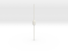 Dan Buoy in White Natural Versatile Plastic