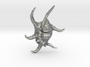Harpago Chiragra in Natural Silver
