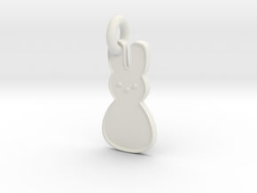 Peep Pendant in White Natural Versatile Plastic
