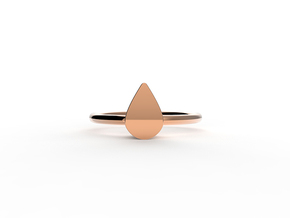 lover's tear in 14k Rose Gold Plated Brass