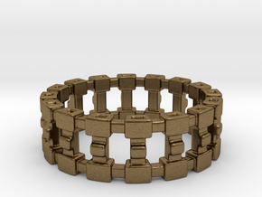 Treya Ring in Natural Bronze