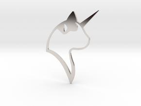 CATICORN PENDANT BY ARISUMOCHI in Platinum