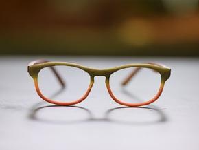 Optoid Hybrid MkVIII: Custom Fit Rx Eyewear in White Processed Versatile Plastic