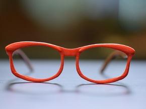 Optoid Hybrid MkXIII: Custom Fit Rx Eyewear in White Processed Versatile Plastic