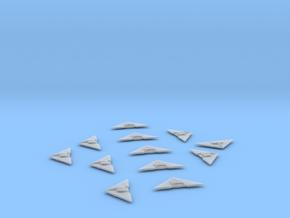 Gaim Reska Light Fighter x12 in Smooth Fine Detail Plastic