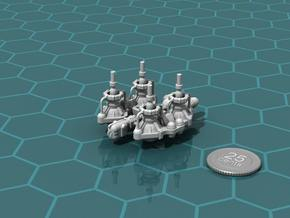 Fuel Refinery Ship in White Strong & Flexible