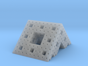 Menger roof (3 iterations) in Smooth Fine Detail Plastic