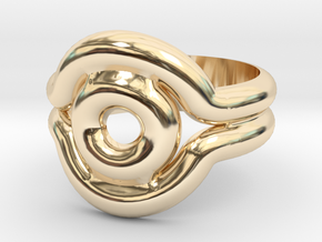 Shadow Ring - Style 2 in 14K Yellow Gold