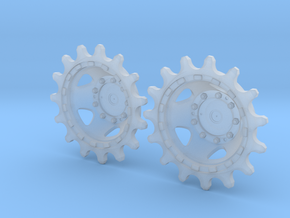 Merkava 2d Batash Sprocket halves in Frosted Ultra Detail