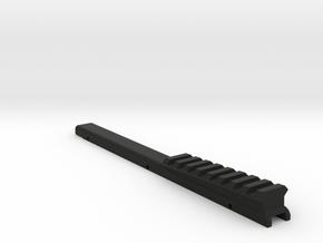 M17CQC 3 degree rail in Black Natural Versatile Plastic