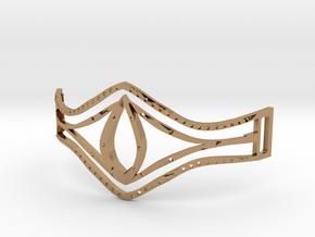 Eye Of Pharaoh Bracelet in Polished Brass