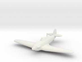 Hawker Hurricane Mk.I in White Strong & Flexible: 1:200