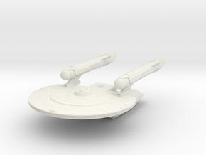 Geronmo Class  New Axanar Ship  in White Strong & Flexible