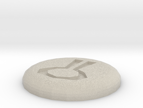 Nature Rune in Natural Sandstone
