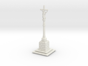 HORelCal02 - Calvary of Brittany in White Natural Versatile Plastic