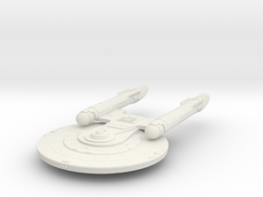 Baker Class  New Axanar Ship  in White Strong & Flexible