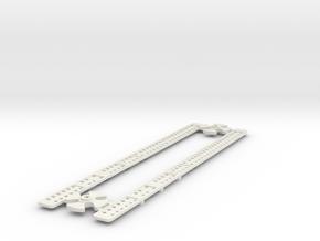 L-165-single-level-crossing-gate-stick-gears-1a in White Natural Versatile Plastic