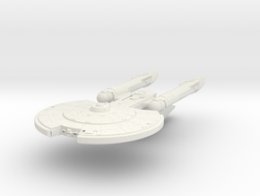 Carter Class   new Axanar ship in White Natural Versatile Plastic