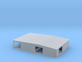 Truss Manufacturing Warehouse Z Scale in Smooth Fine Detail Plastic