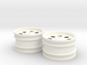AMPro RFX Wheels for Rising Fighter in White Strong & Flexible Polished
