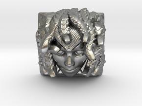 Medusa Keycap (Topre DSA) in Natural Silver