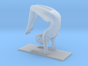 Scorpion handstand pose (2.5 cm) in Frosted Ultra Detail