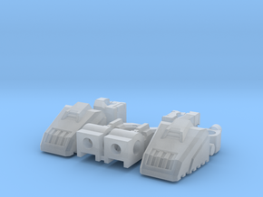 Classics Optimus Prime Hand and Foot Upgrade Parts in Smooth Fine Detail Plastic
