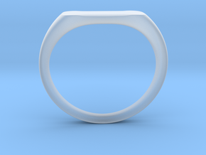Ring - Personalized Occasion in Smooth Fine Detail Plastic