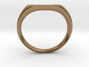 Ring - Personalized Occasion in Natural Brass