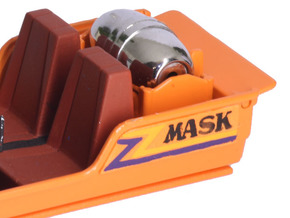 M.A.S.K. Gator Speedboat Logo in Orange Processed Versatile Plastic