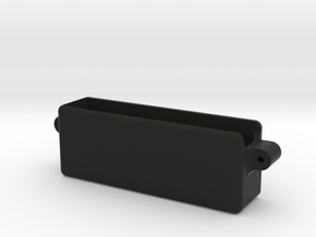 MUGEN MBX7R RX BATTERY TRAY in Black Natural Versatile Plastic