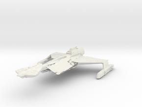T6 VII Assault Battleship in White Natural Versatile Plastic
