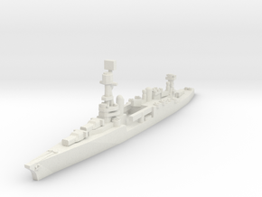 Northampton class cruiser 1/2400 in White Natural Versatile Plastic