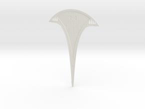 Complete 40cm KIT Starship Base Doors Open WSF in White Natural Versatile Plastic
