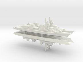 Takanami-class destroyer x 4, 1/1800 in White Natural Versatile Plastic