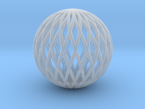 Math Sphere in Smooth Fine Detail Plastic