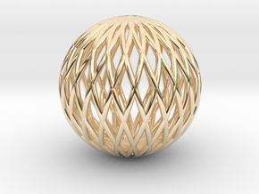 Math Sphere in 14K Yellow Gold