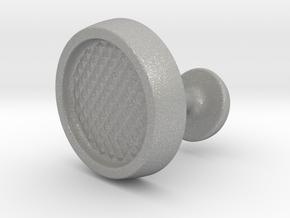Custom Cufflink #01 in Aluminum
