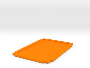 Damage Deck Lid in Orange Processed Versatile Plastic