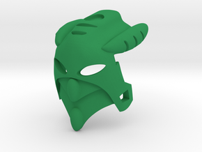 Kanohi Angaru in Green Processed Versatile Plastic