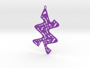 Dancer #3 in Purple Processed Versatile Plastic